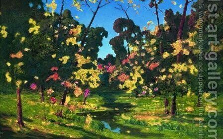 Autumn 2 by Arkhip Ivanovich Kuindzhi - Reproduction Oil Painting