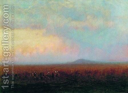 Twilight in the steppe by Arkhip Ivanovich Kuindzhi - Reproduction Oil Painting