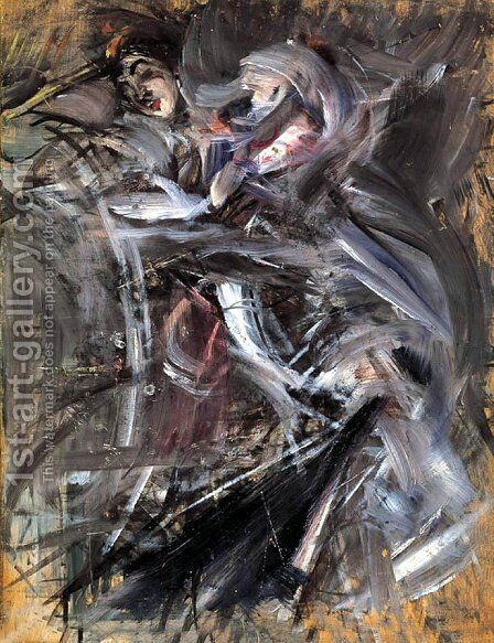 Female Figure by Giovanni Boldini - Reproduction Oil Painting