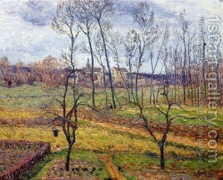 Overcast Weather at Nesles la Vallee by Gustave Loiseau - Reproduction Oil Painting