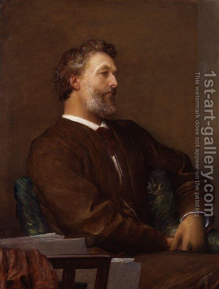 Frederic Leighton, Baron Leighton by George Frederick Watts - Reproduction Oil Painting