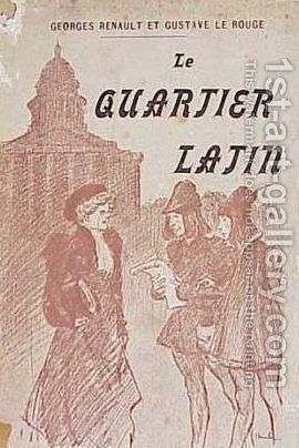 Le Quartier Latin by Theophile Alexandre Steinlen - Reproduction Oil Painting
