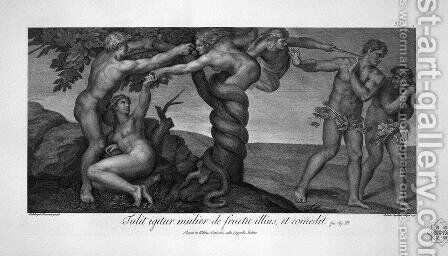 The creation of man by Giovanni Battista Piranesi - Reproduction Oil Painting