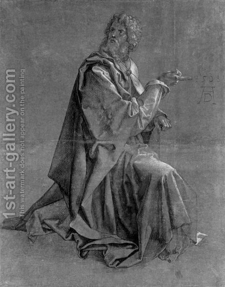 Kneeling Apostle by Albrecht Durer - Reproduction Oil Painting