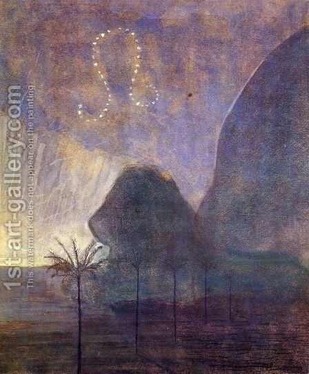 Leo by Mikolajus Ciurlionis - Reproduction Oil Painting