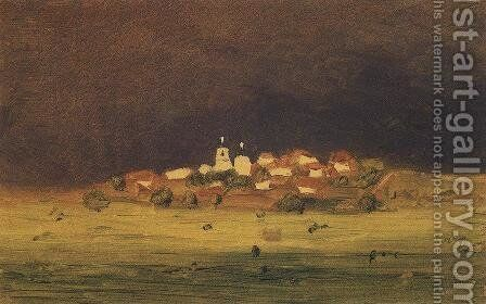 After a Rain 3 by Arkhip Ivanovich Kuindzhi - Reproduction Oil Painting