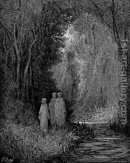 Terrestrial Paradise by Gustave Dore - Reproduction Oil Painting