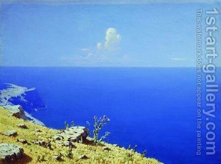 The Sea. The Crimea by Arkhip Ivanovich Kuindzhi - Reproduction Oil Painting
