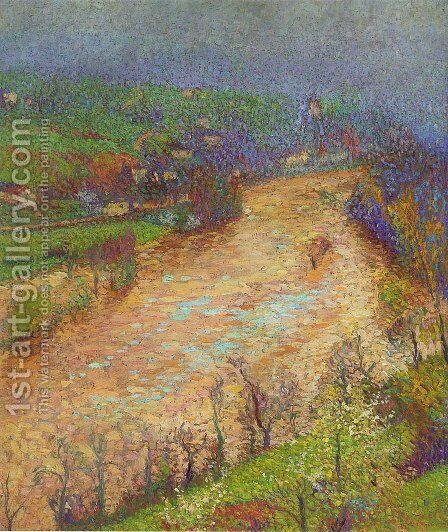 The Lot in Crue by Henri Martin - Reproduction Oil Painting