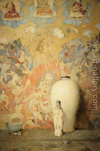 The Picture from Thibet by Emil Carlsen - Reproduction Oil Painting