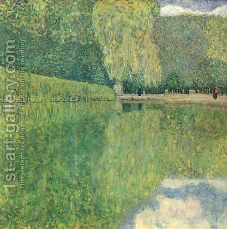 Park of Schonbrunn by Gustav Klimt - Reproduction Oil Painting
