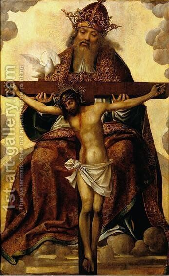 Santissima Trindade by Cristovano Figueiredo - Reproduction Oil Painting