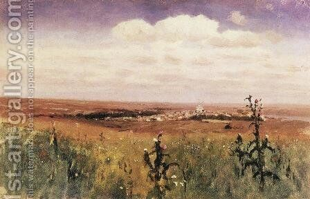 Steppe by Arkhip Ivanovich Kuindzhi - Reproduction Oil Painting