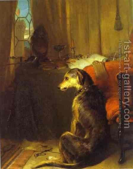High Life by Sir Edwin Henry Landseer - Reproduction Oil Painting
