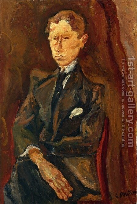 Le Rouquin by Chaim Soutine - Reproduction Oil Painting