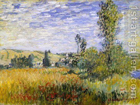 Vetheuil 4 by Claude Oscar Monet - Reproduction Oil Painting