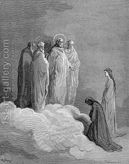 The Heaven of the Fixed Stars by Gustave Dore - Reproduction Oil Painting