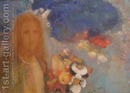 Spring by Odilon Redon - Reproduction Oil Painting
