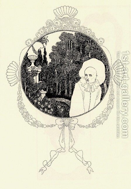 Pierrot of the Minute by Aubrey Vincent Beardsley - Reproduction Oil Painting