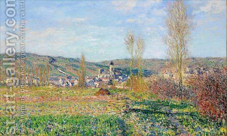 Vetheuil under the Sun by Claude Oscar Monet - Reproduction Oil Painting