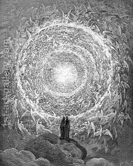 The Empyrean by Gustave Dore - Reproduction Oil Painting
