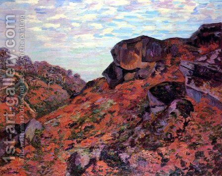 Crozant, les Monts Sedelle, matin by Armand Guillaumin - Reproduction Oil Painting