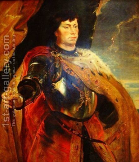 Charles the Bold, duke of Burgundy by Rubens - Reproduction Oil Painting
