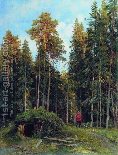 Evening 2 by Ivan Shishkin - Reproduction Oil Painting