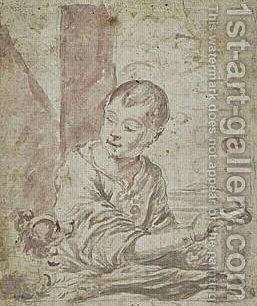 Portrait of a Child by Bartolome Esteban Murillo - Reproduction Oil Painting