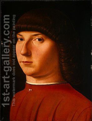 Portrait of a Young Man 3 by Antonello da Messina Messina - Reproduction Oil Painting