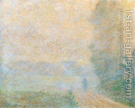 Path in the Fog by Claude Oscar Monet - Reproduction Oil Painting