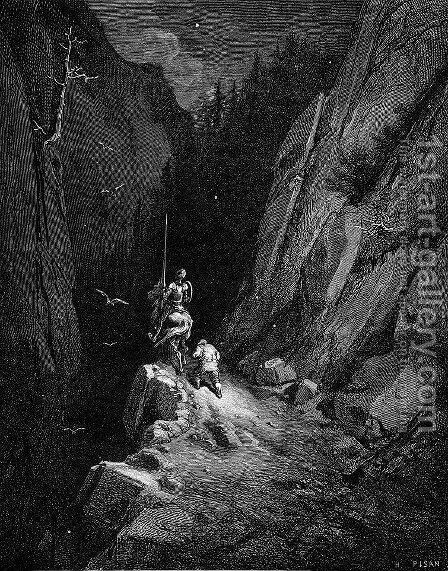 Don Quixote 51 by Gustave Dore - Reproduction Oil Painting