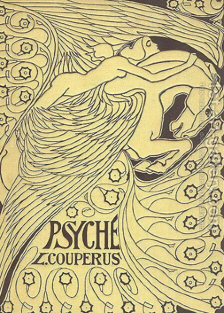 Cover for 'Psyche' by Louis Couperus by Jan Toorop - Reproduction Oil Painting