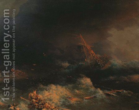 Ingermanland by Ivan Konstantinovich Aivazovsky - Reproduction Oil Painting