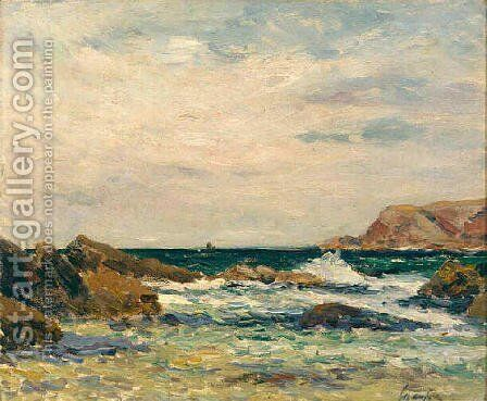 Belle-Ile-en-Mer by Maxime Maufra - Reproduction Oil Painting