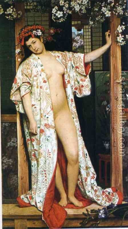 Unknown 3 by James Jacques Joseph Tissot - Reproduction Oil Painting