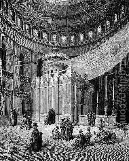 The Holy Sepulcher by Gustave Dore - Reproduction Oil Painting