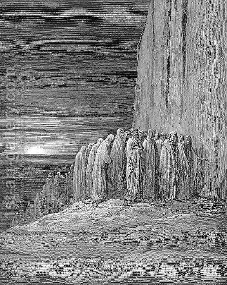 The Slothful by Gustave Dore - Reproduction Oil Painting