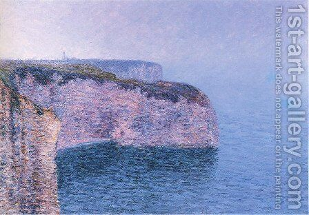 Etretat . The Battery Point. by Gustave Loiseau - Reproduction Oil Painting