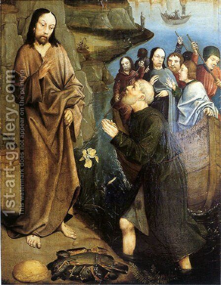 Third Appearance of Christ by Dieric the Elder Bouts - Reproduction Oil Painting