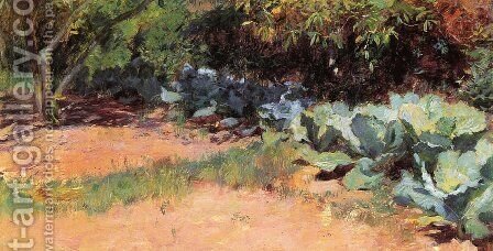 The Cabbage Patch by Guy Rose - Reproduction Oil Painting