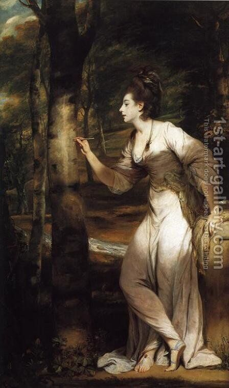 Mrs. Richard Bennett Lloyd by Sir Joshua Reynolds - Reproduction Oil Painting