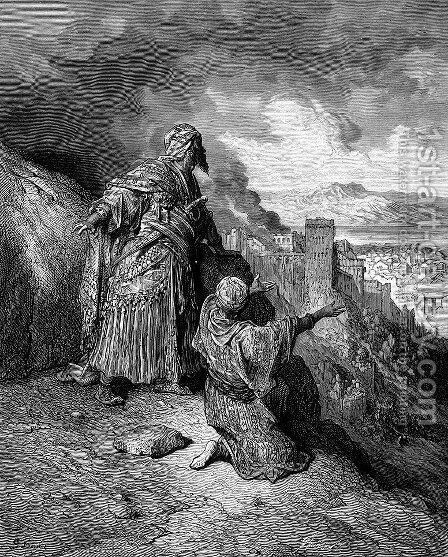 An Enemy of the Crusaders by Gustave Dore - Reproduction Oil Painting
