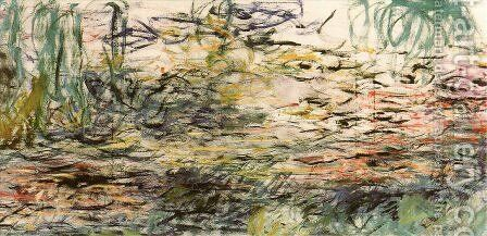 Water Lilies 52 by Claude Oscar Monet - Reproduction Oil Painting