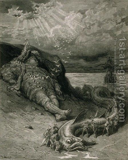 Pantagruel by Gustave Dore - Reproduction Oil Painting