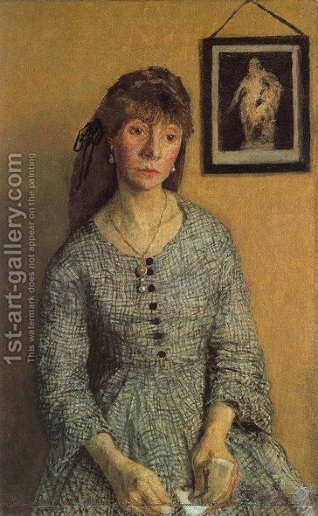 Chloe Boughton Leigh by Gwen John - Reproduction Oil Painting