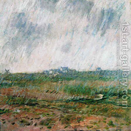 Rain in Belle-Ile by Claude Oscar Monet - Reproduction Oil Painting