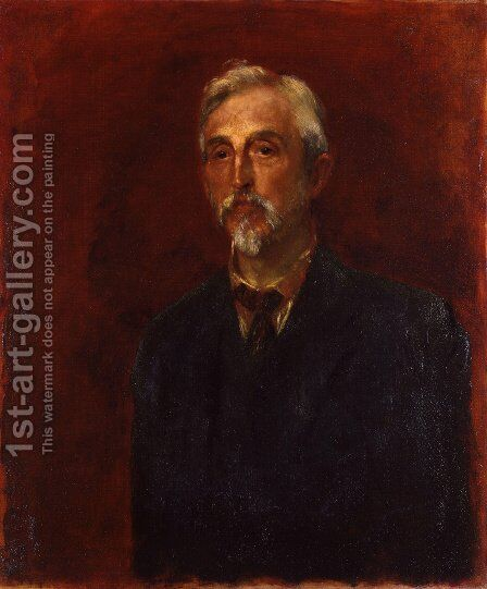 Charles Booth by George Frederick Watts - Reproduction Oil Painting