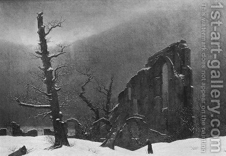 Winter 2 by Caspar David Friedrich - Reproduction Oil Painting