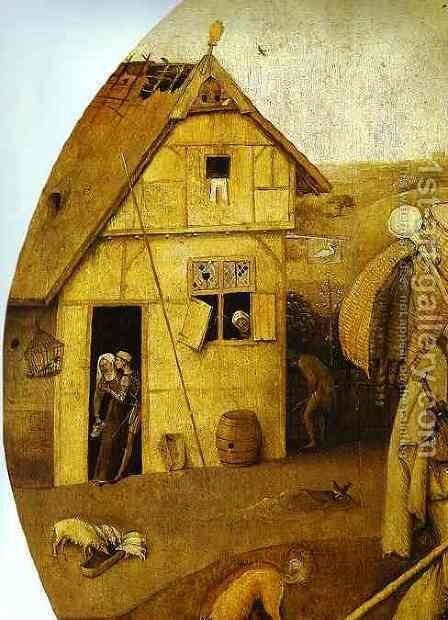 The House of Ill Fame by Hieronymous Bosch - Reproduction Oil Painting